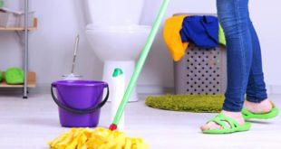 تنظيف المنزل في اسرع وقت