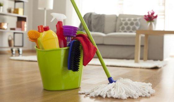 خطوات تنظيف المنزل